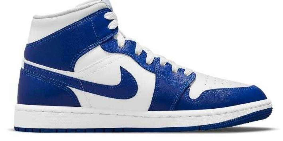 Latest Arrivals Air Jordan 1 Mid Is Perfect For Kentucky Wildcats Fans